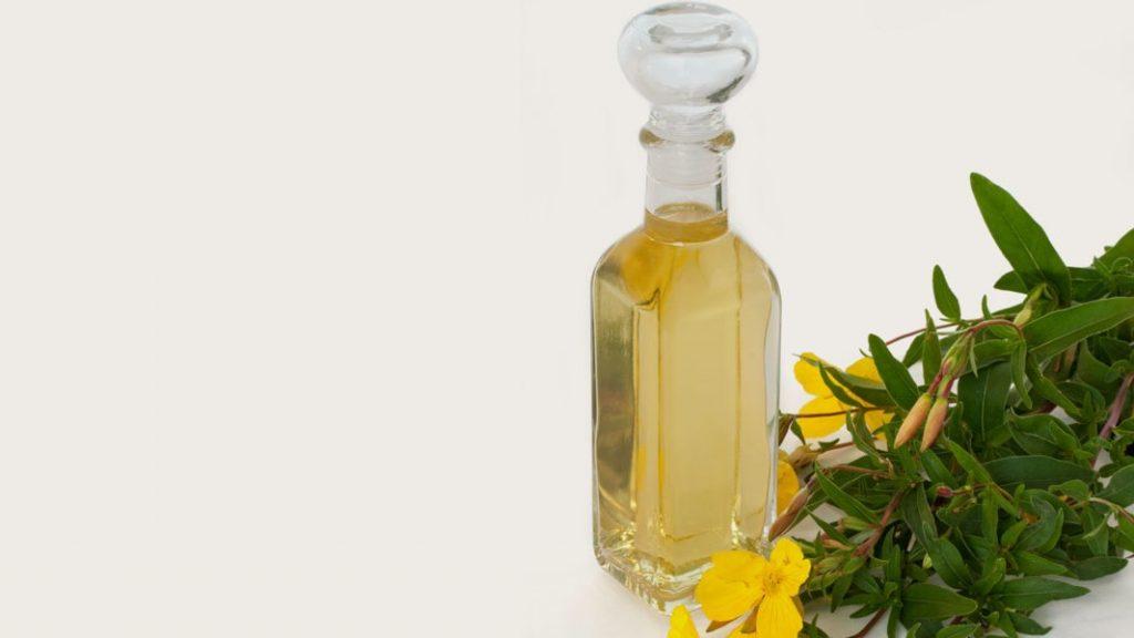hair care cosmetics with Evening Primrose Oil