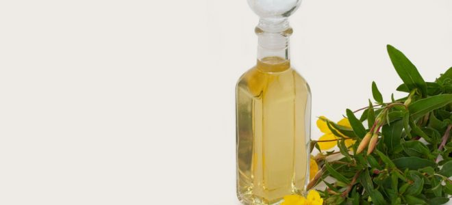 hair care cosmetics with Evening Primrose Oil